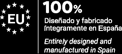 EU. Fabricado en España. Made in Spain.